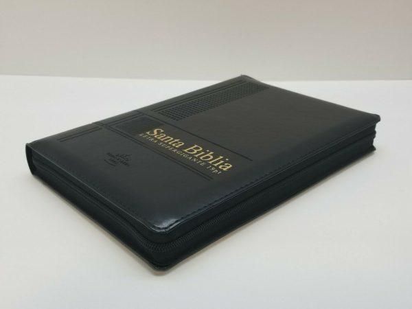 Biblia Reina Valera 1960 Letra Súper Gigante Color Negro con Índice a