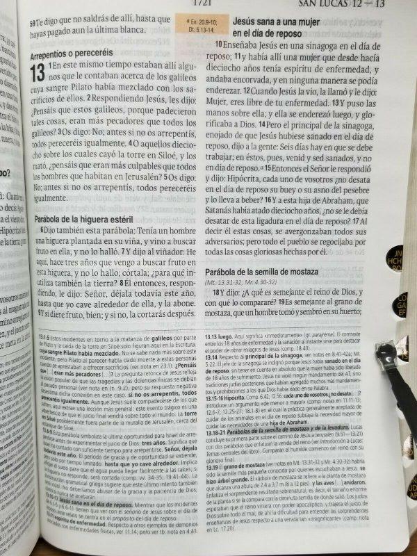 BIBLIA DE ESTUDIO TEOLÓGICO REINA VALERA 1960 COLOR NEGRO CON ÍNDICE b