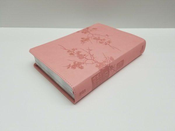 Biblia de Estudio Serie 50 Reina Valera 1960 Simil Piel Color Rosa con Índice a