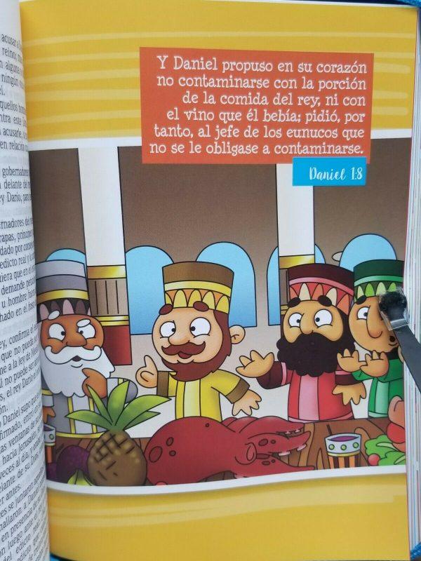 Biblia para Niñas Mi Gran Viaje Tamaño Mediana RVR 1960 Color Rosa con Cierre b