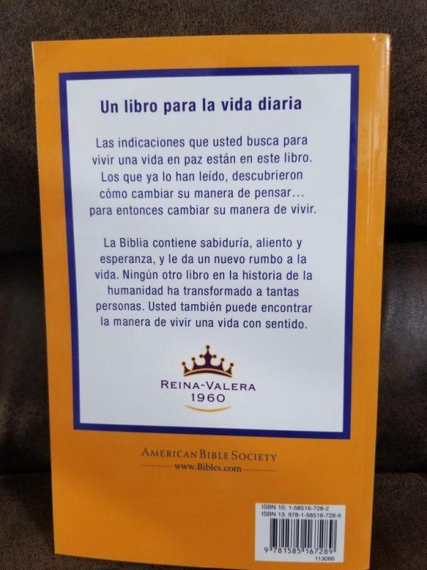 Santa Biblia Reina Valera 1960 Económica a