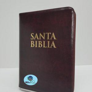 Biblia Reina Valera 1960 Letra Gigante Color Vino Tinto con Índice
